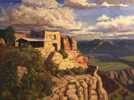 Clickable Image: Plein air Painting for Beginners, New Mexico, scenery, workshop